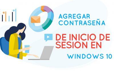 COMO PONER CONTRASEÑA DE INICIO DE SESION EN MI PC CON WINDOWS 10