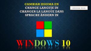 Windows 10 nos da la opcion de instalar el idioma que nosotros deseamos para nuestro pc, hoy te voy a mostrar cómo instalarlo y colocarlo como idioma predeterminado en tu pc