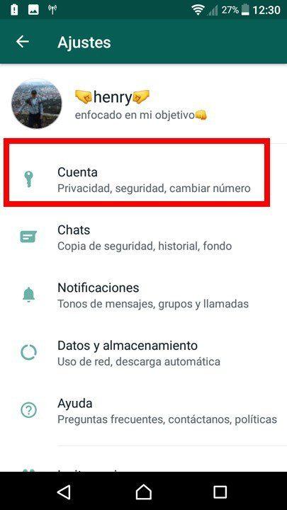 entrar en cuenta de whatsapp