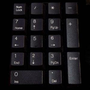 activar y desactivar el teclado numérico en windows 10