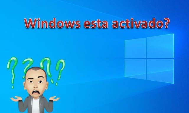 como verificar si windows esta activado
