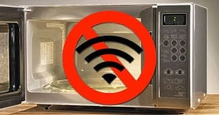 no coloques el modem cerca a aparatos eléctricos